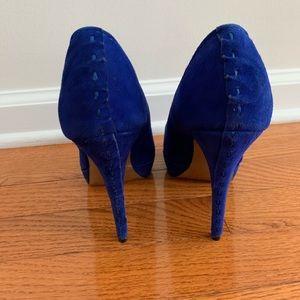 Steve Madden Shoes - Steve Madden Blue Heels Size:7;5.